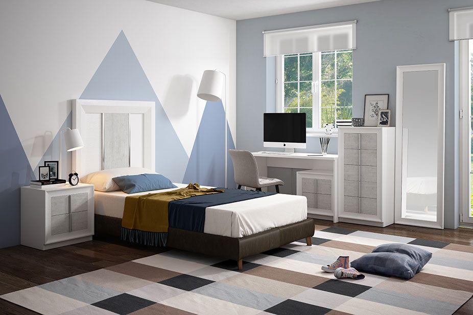 Dormitorio Juvenil Ref 402 Sp1 Pozolana