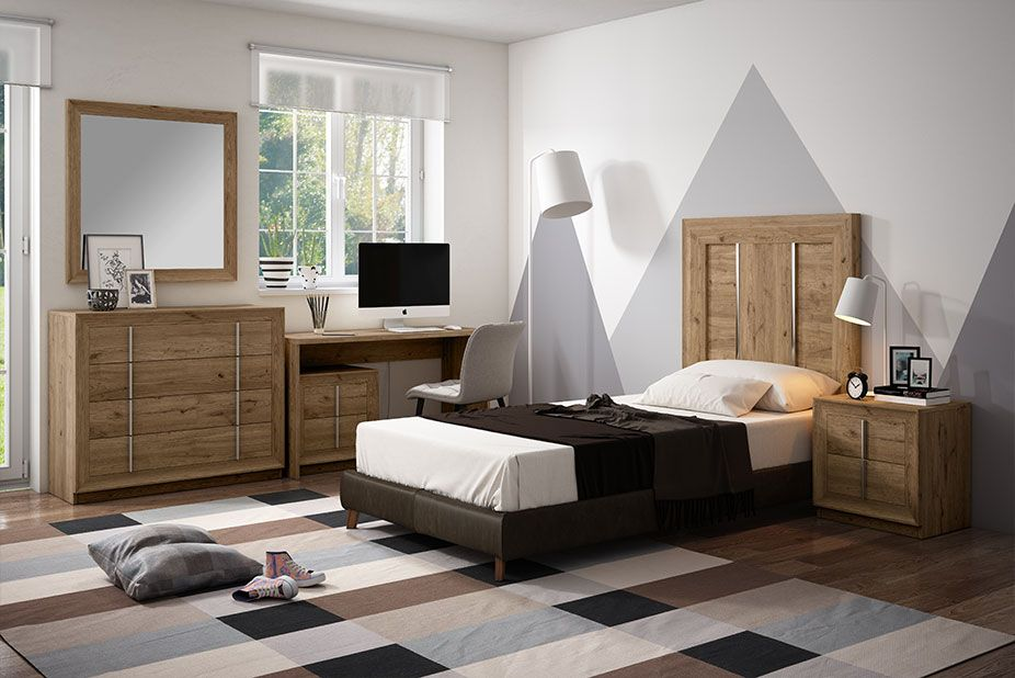 Dormitorio Juvenil Ref 403 Salermo